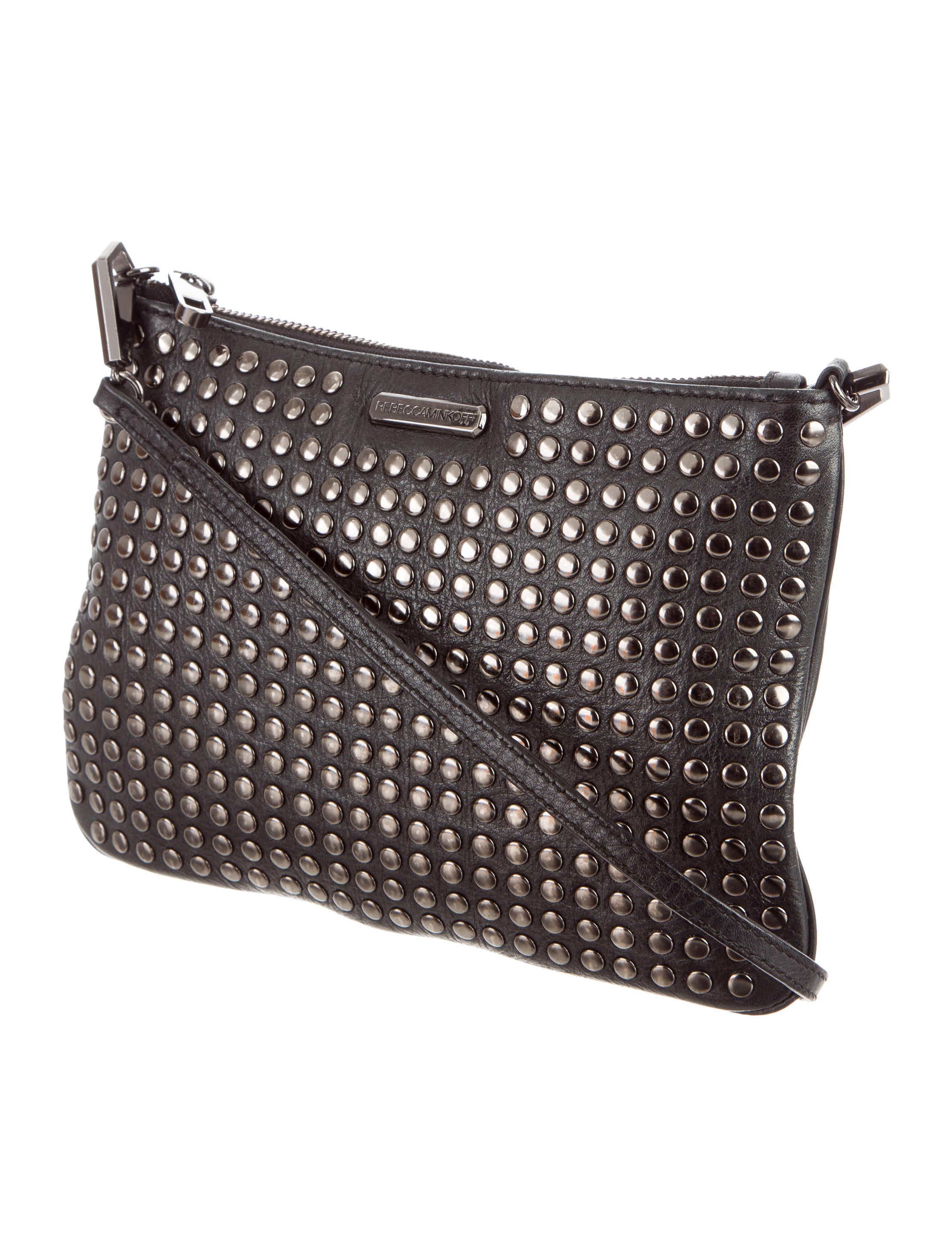 Contemporary Flatware Rebecca Minkoff Studded Crossbody Bag Handbags