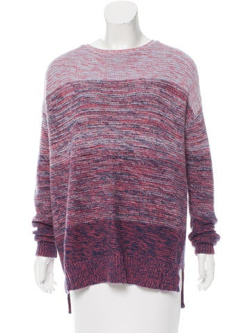Rebecca Minkoff Long Sleeve Knit Sweater None