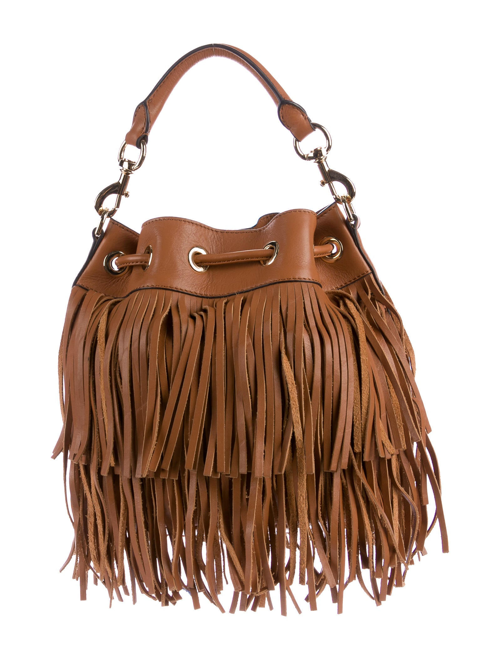 Get the fringe look in a style that is proven to be timeless. The Proenza Schouler PS1 mail bag is a classic that ups the cool factor in every outfit.