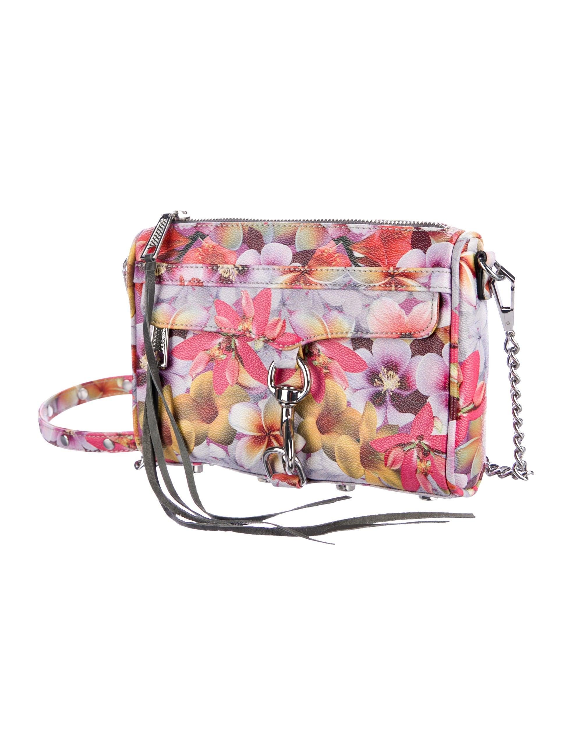 Rebecca Minkoff Floral Printed MAC Crossbody Bag - Handbags - WRM32190 | The RealReal
