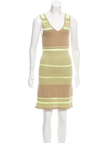 Rebecca Minkoff Patterned Sleeveless Dress None