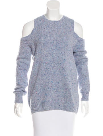 Rebecca Minkoff Cold-Shoulder Wool Sweater w/ Tags None