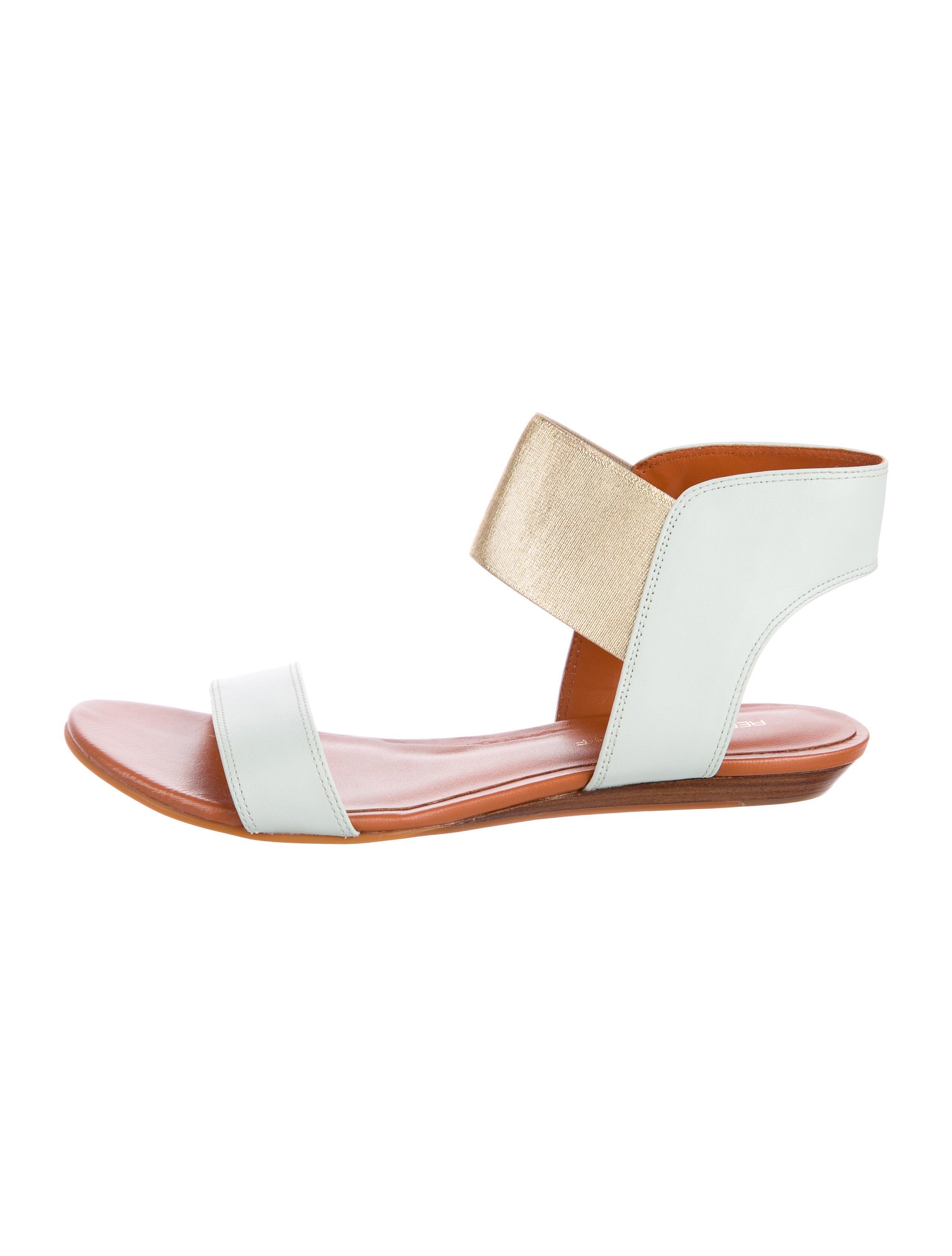 buy cheap low shipping Rebecca Minkoff Bazzle Metallic Sandals online Shop ddXsZrU
