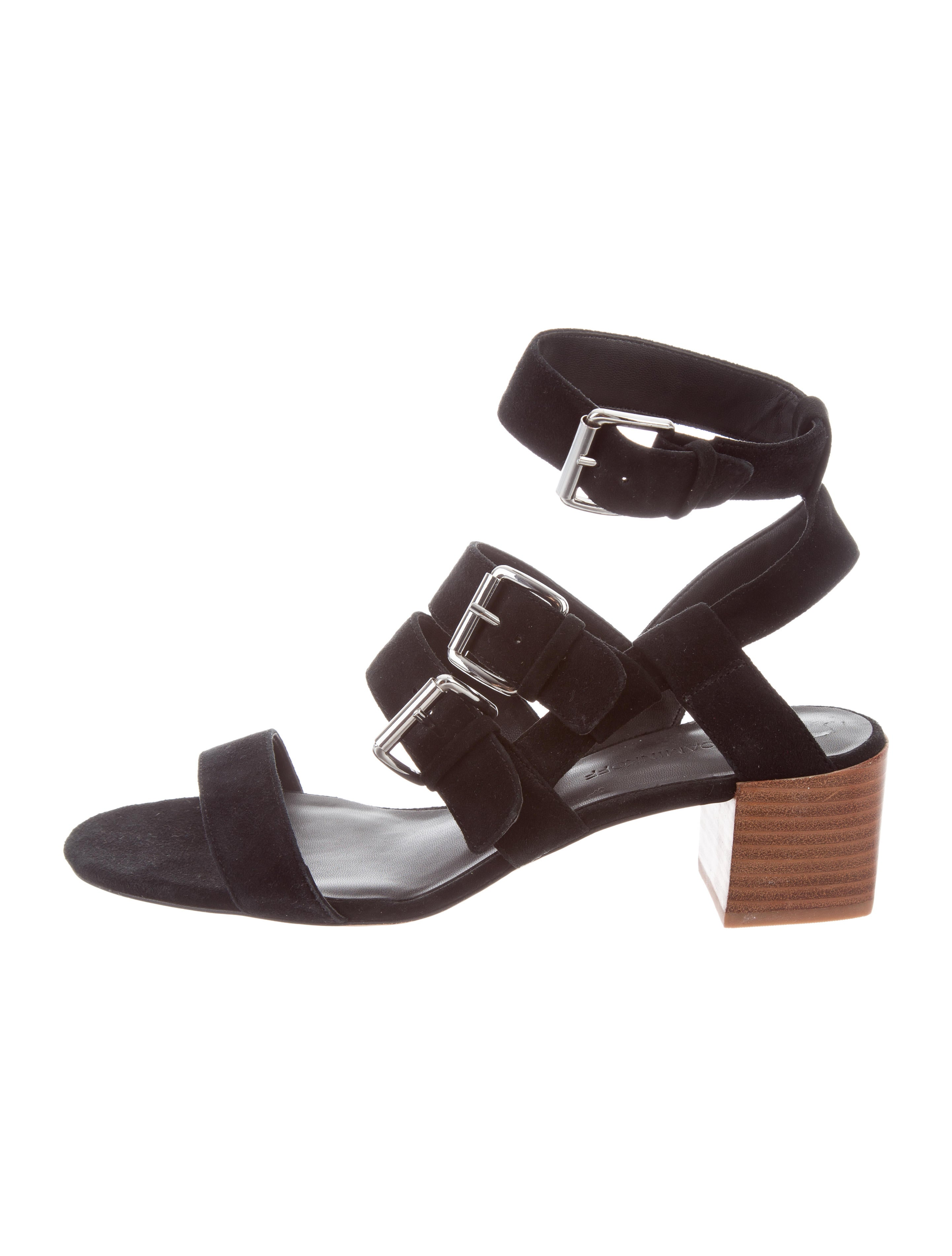 Rebecca Minkoff Suede Buckle Sandals shop for cheap price store online discount pick a best pictures for sale free shipping how much KGI6i8vqPs