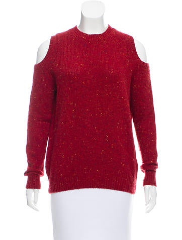 Rebecca Minkoff Cutout Wool Sweater None