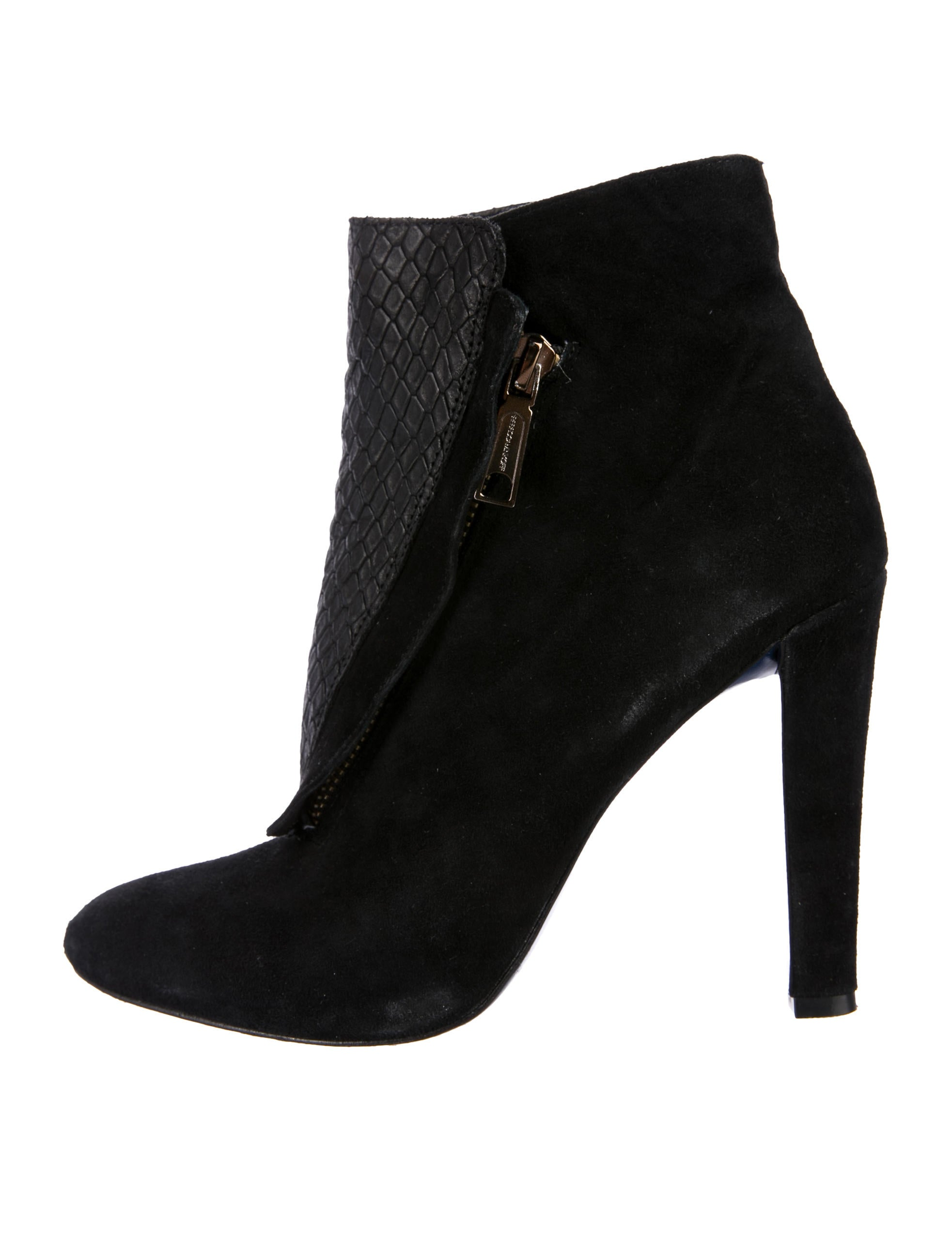 Rebecca Minkoff Suede Pointed-Toe Ankle Boots discount 100% guaranteed PGUab26
