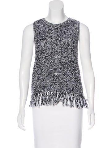 Rebecca Minkoff Sleeveless Knit Sweater None