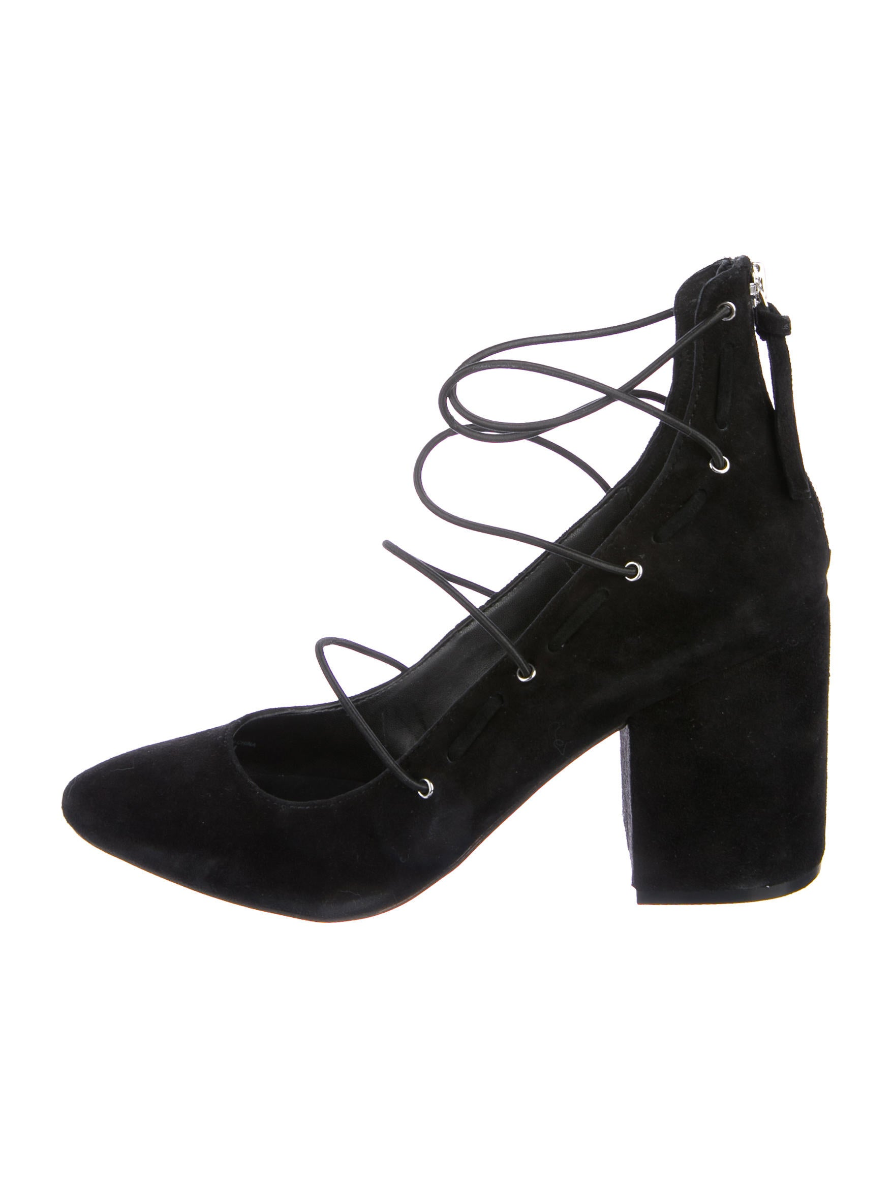 Rebecca Minkoff Multistrap Suede Pumps sale exclusive clearance low price free shipping wide range of shop for online cheapest price cheap online dmeT2