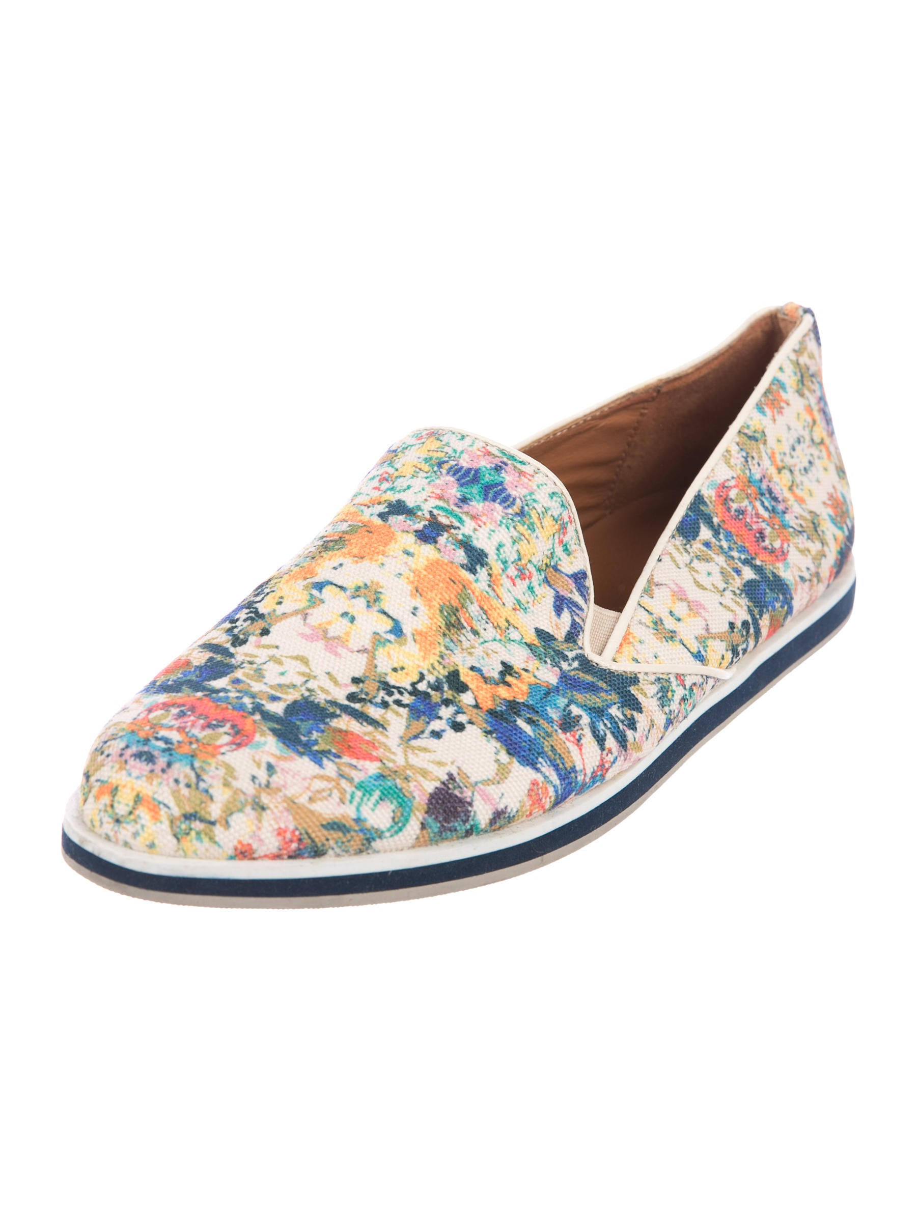 Rebecca Minkoff Floral Canvas Loafers finishline discount fashionable explore excellent cheap price WwwO4tzqP