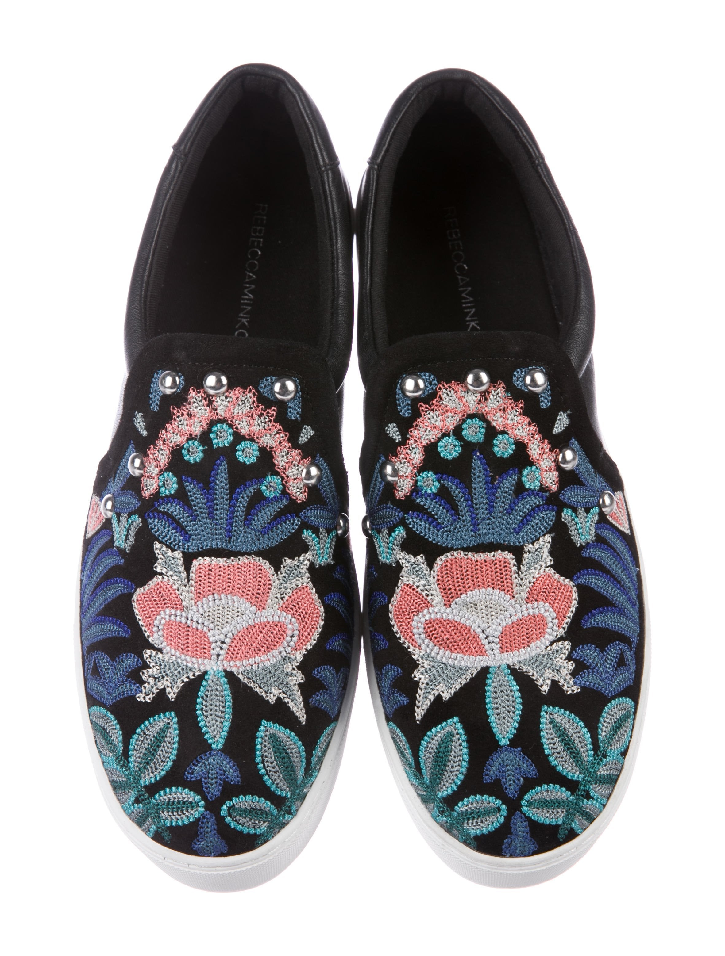 Rebecca Minkoff Embroidered Slip-On Sneakers cheap sale amazing price buy cheap footlocker finishline real online free shipping sneakernews for cheap online b0EgAasTT