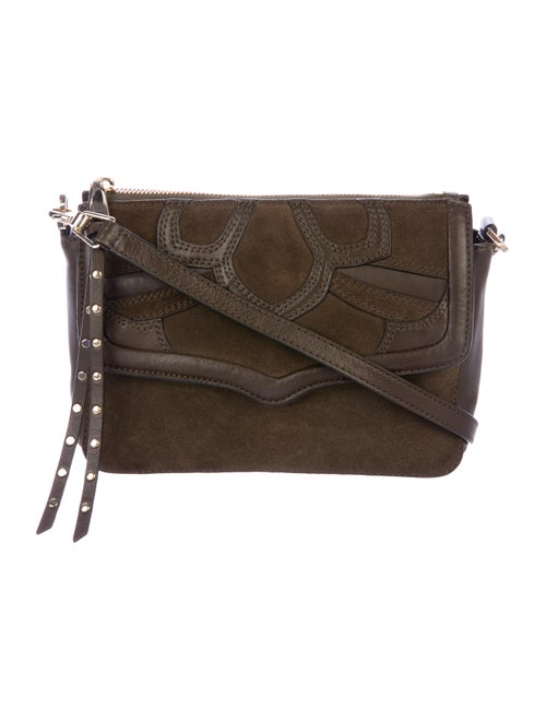 23157fabc Rebecca Minkoff Laurie Suede Crossbody Bag - Handbags - WRM37997 ...