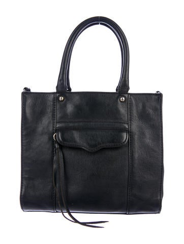 Product Name Rebecca Minkoff Leather Mini M A B Tote