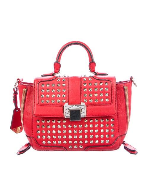 Rebecca Minkoff Elle Leather Satchel Red