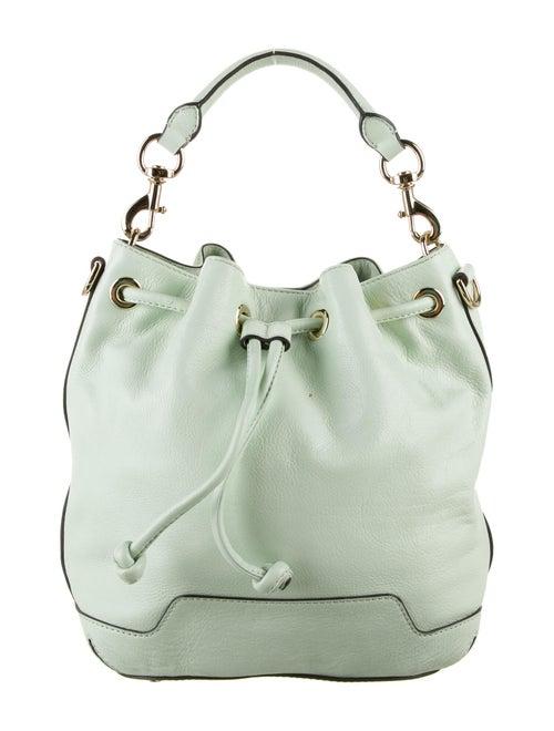 Rebecca Minkoff Leather Bucket Bag Green
