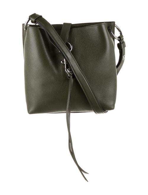 Rebecca Minkoff Leather Crossbody Bag Green