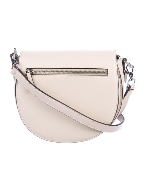 Rebecca Minkoff Leather Crossbody Bag Silver
