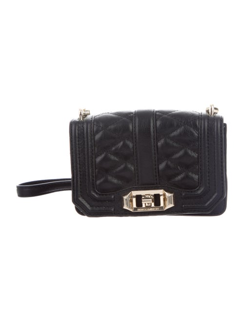 Rebecca Minkoff Mini Love Crossbody Bag Black