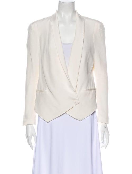 Rebecca Minkoff Silk Blazer White