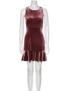 Rebecca Minkoff Scoop Neck Mini Dress