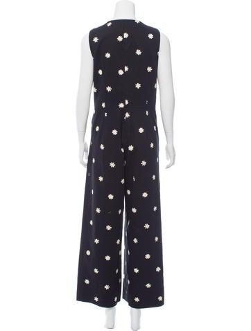a16d889a8ed6 Rachel Antonoff Daisy Print Ace Jumpsuit - Clothing - WRN20041
