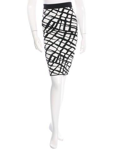 Eshana Patterned Skirt w/ Tags
