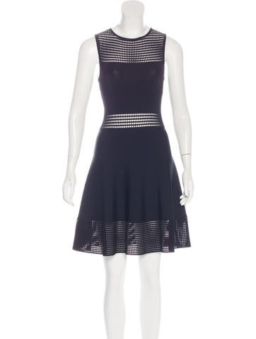 Ronny Kobo Sleeveless Mini Dress None