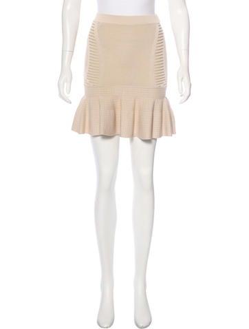 Ronny Kobo Knit Mini Skirt w/ Tags None