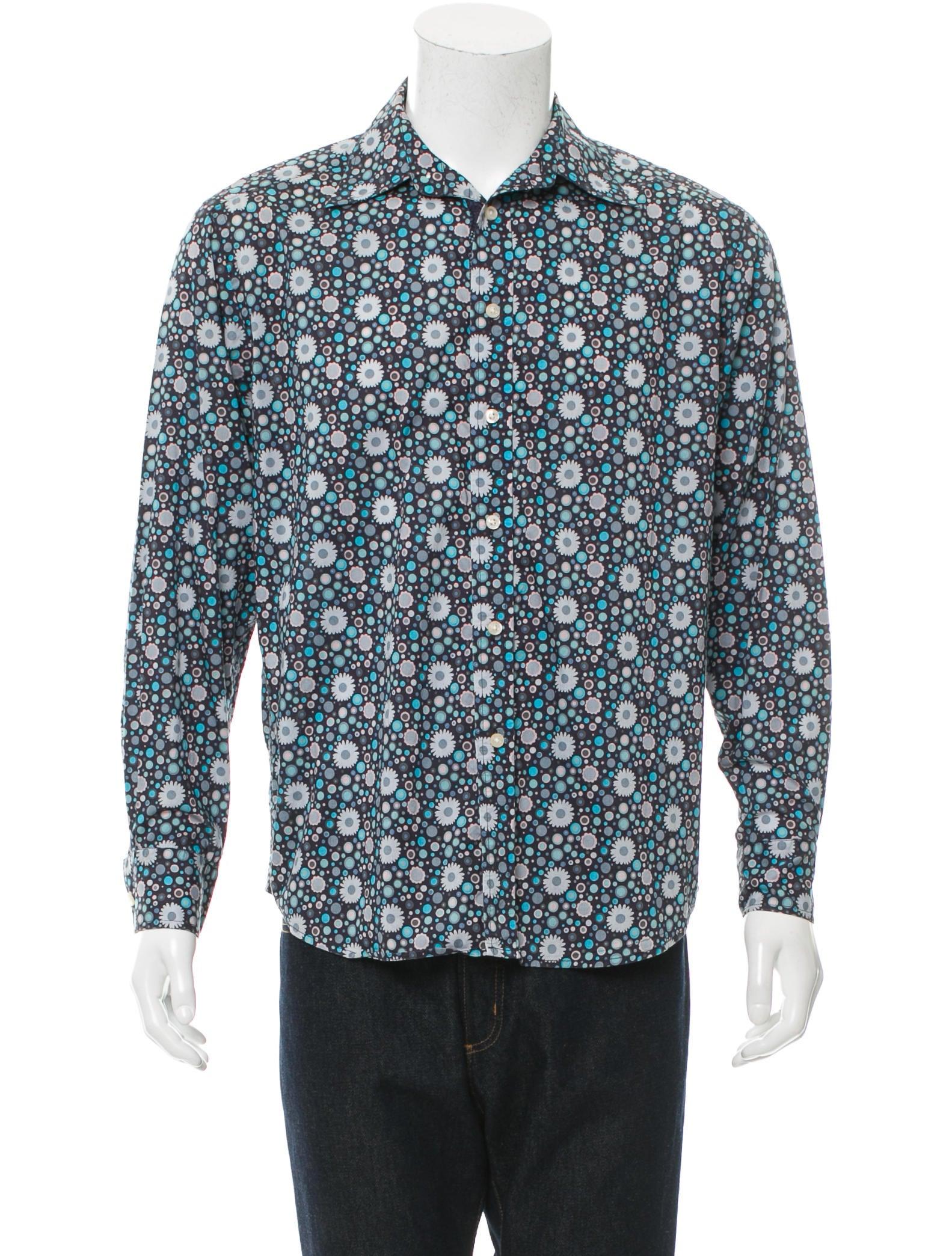 Robert graham floral print button up shirt clothing for Floral print button up shirt