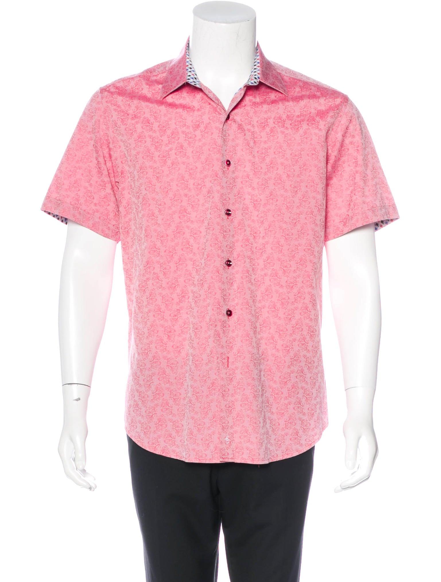 Robert Graham Jacquard Floral Shirt Clothing Wrobg20901 The Realreal