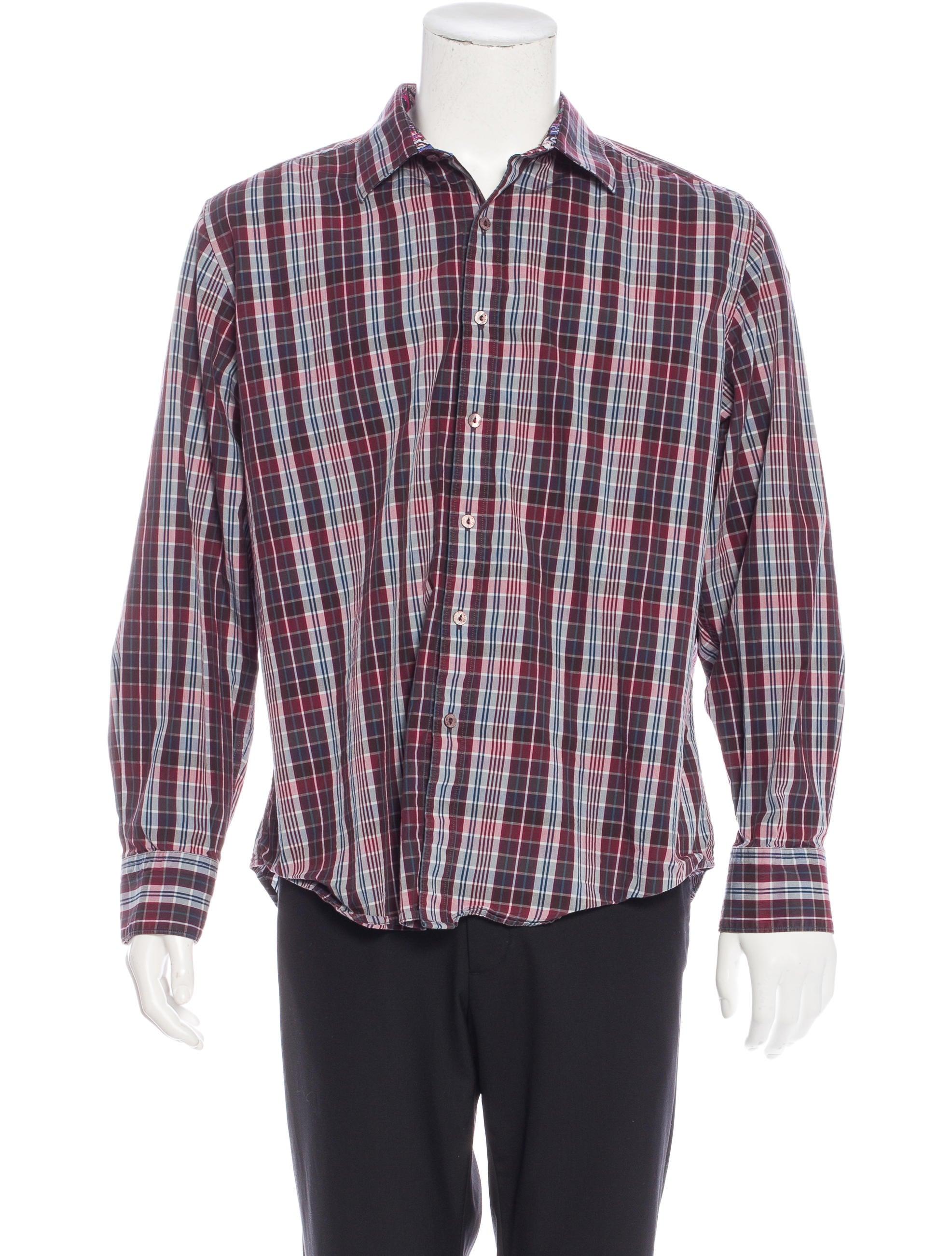 Robert Graham Classic Fit Plaid Shirt Clothing Wrobg20915 The Realreal