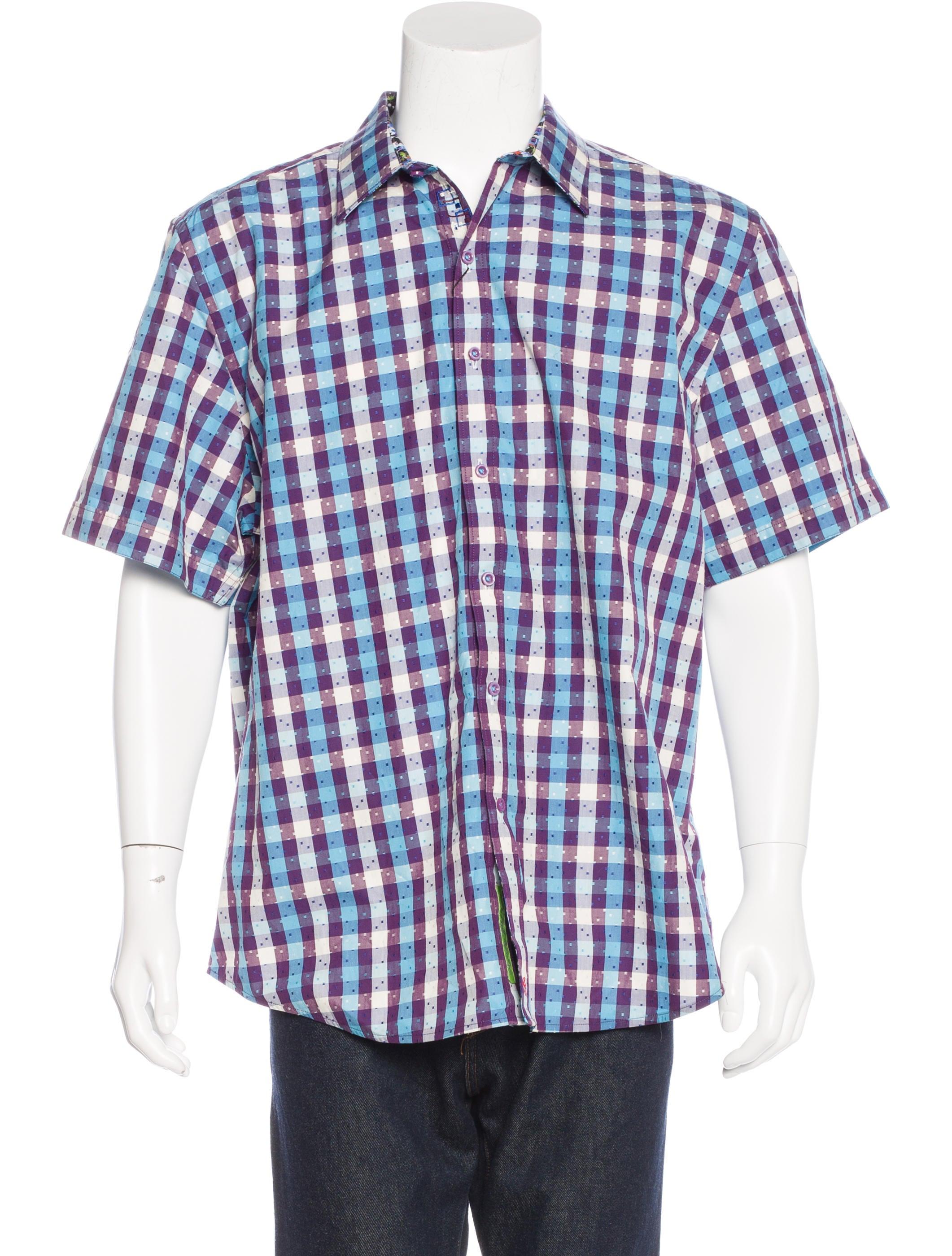 Robert Graham Embroidered Gingham Shirt W Tags Clothing Wrobg20937 The Realreal