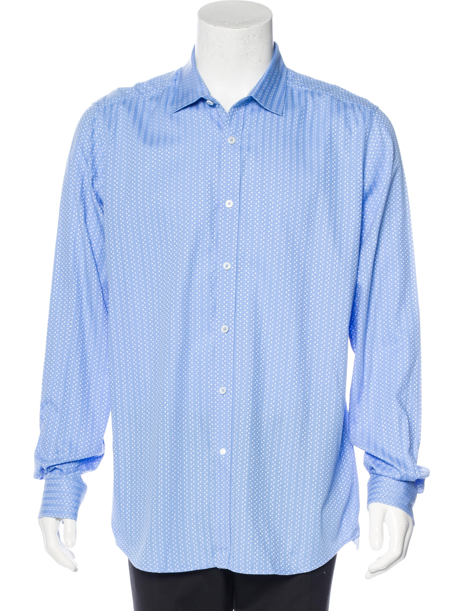 Robert graham tailored fit print shirt clothing for Tailored fit dress shirts