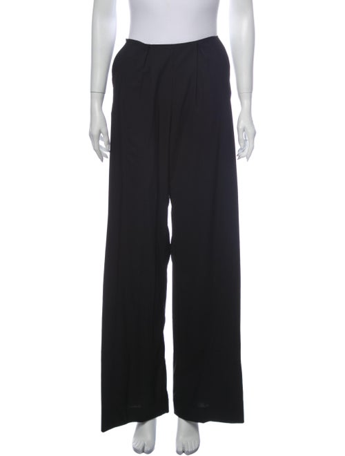 Romance Was Born Wool Wide Leg Pants Wool
