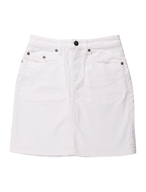 Rouje Mini Skirt White