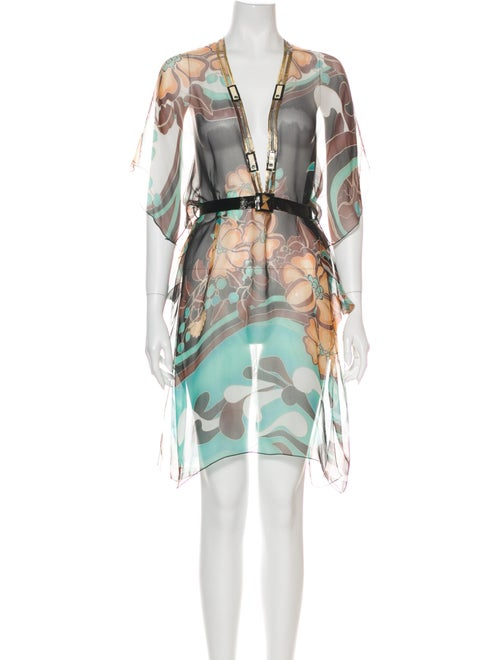 Rozae Nichols Silk Mini Dress