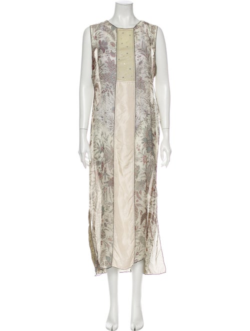 Rozae Nichols Silk Long Dress