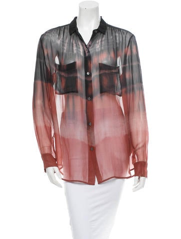 Raquel Allegra Silk Top None