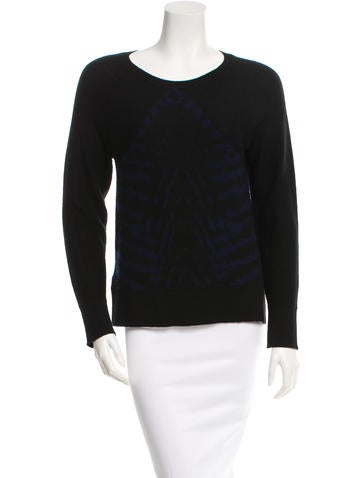 Raquel Allegra Long Sleeve Wool Sweater None