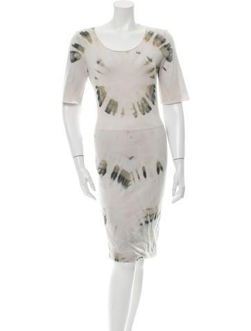 Raquel Allegra Tie-Dye Midi Dress w/ Tags None