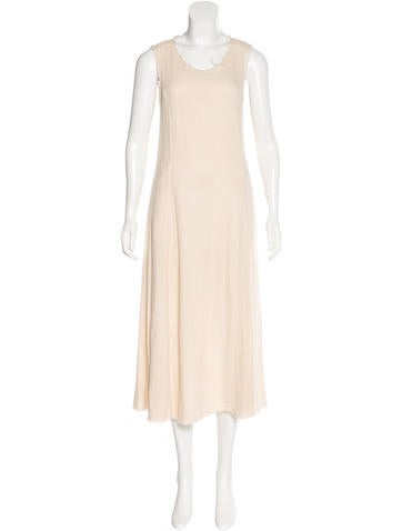 Raquel Allegra Sleeveless Midi Dress None