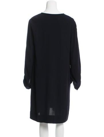Long Sleeve Knee-Length Dress