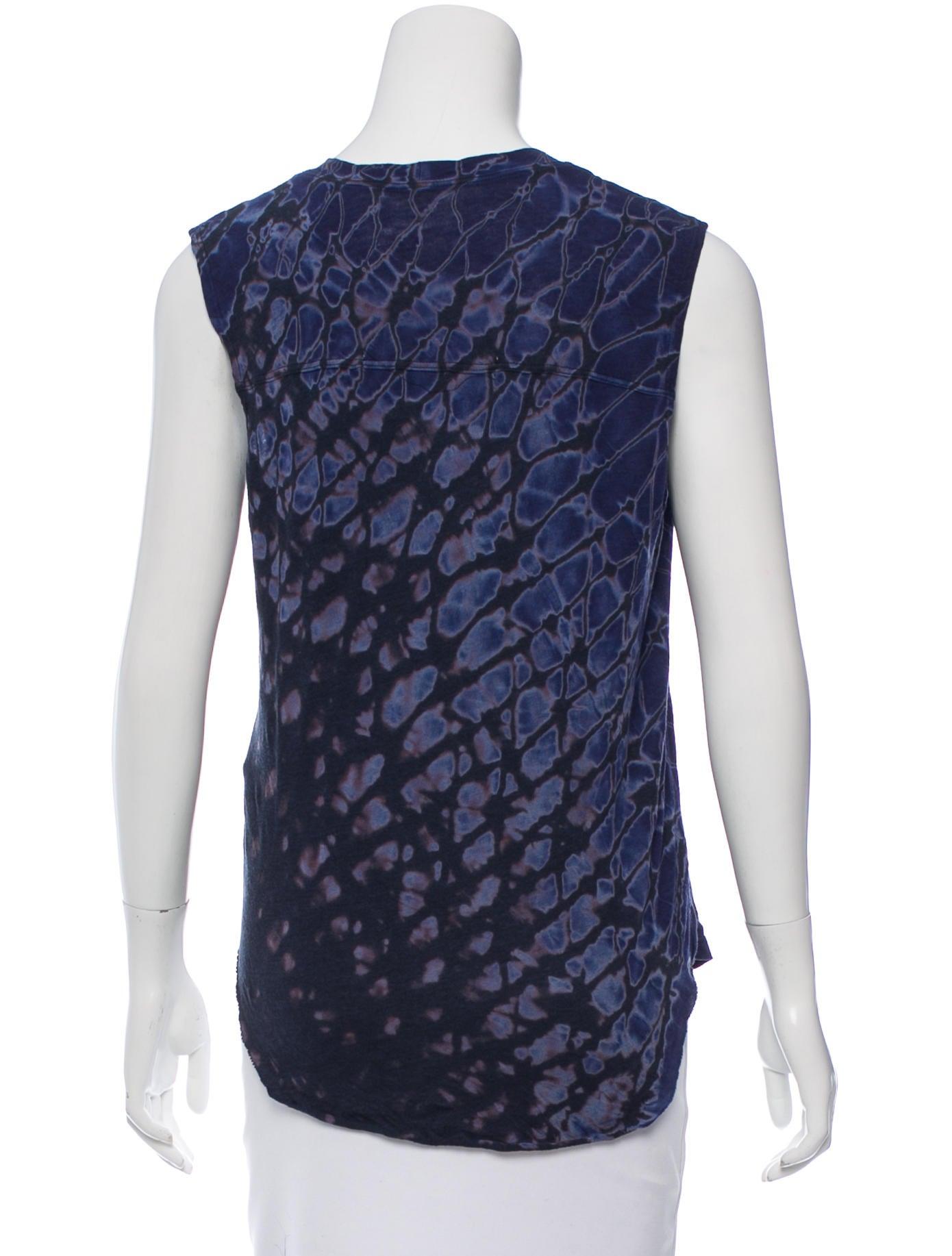 Raquel allegra sleeveless tie dye top w tags clothing for Tie dye sleeveless shirts