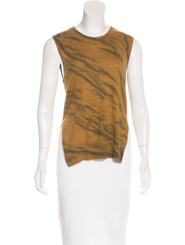 Raquel Allegra Sleeveless Knit Top None