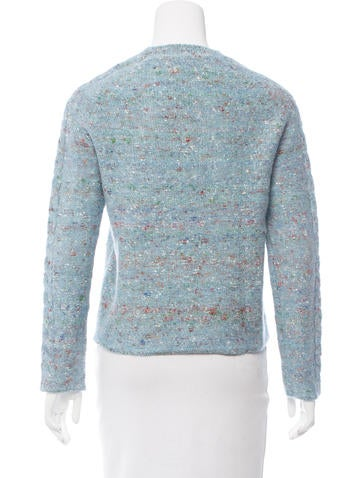 Raquel Allegra Merino Wool Melange Sweater - Clothing - WRQLL25911 The Real...