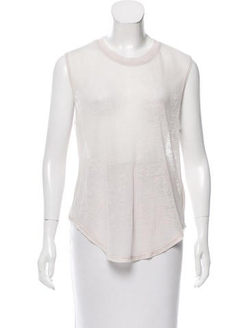 Raquel Allegra Mélange Sleeveless Top w/ Tags None