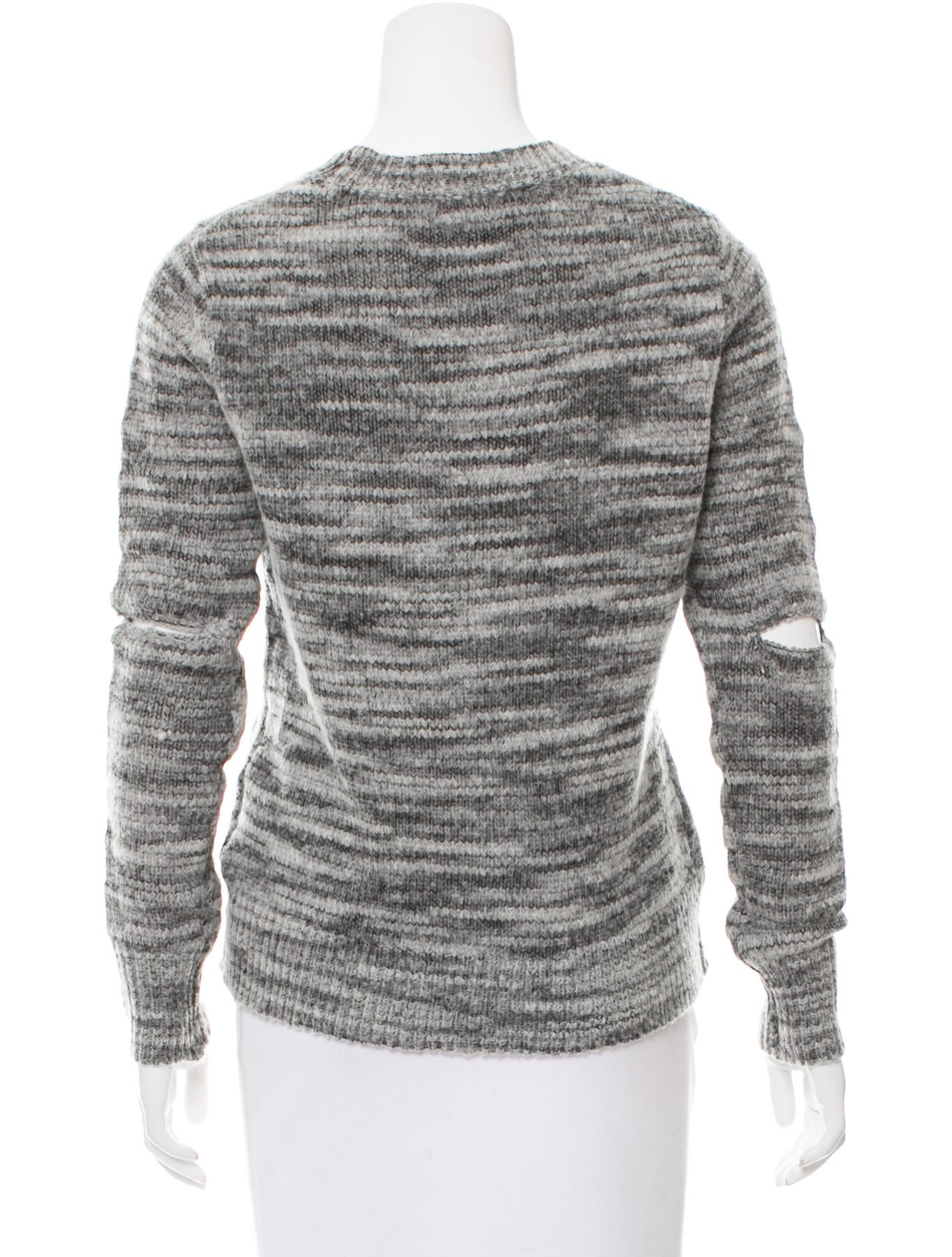 Raquel Allegra Distressed Knit Sweater w/ Tags - Clothing - WRQLL26202 The ...