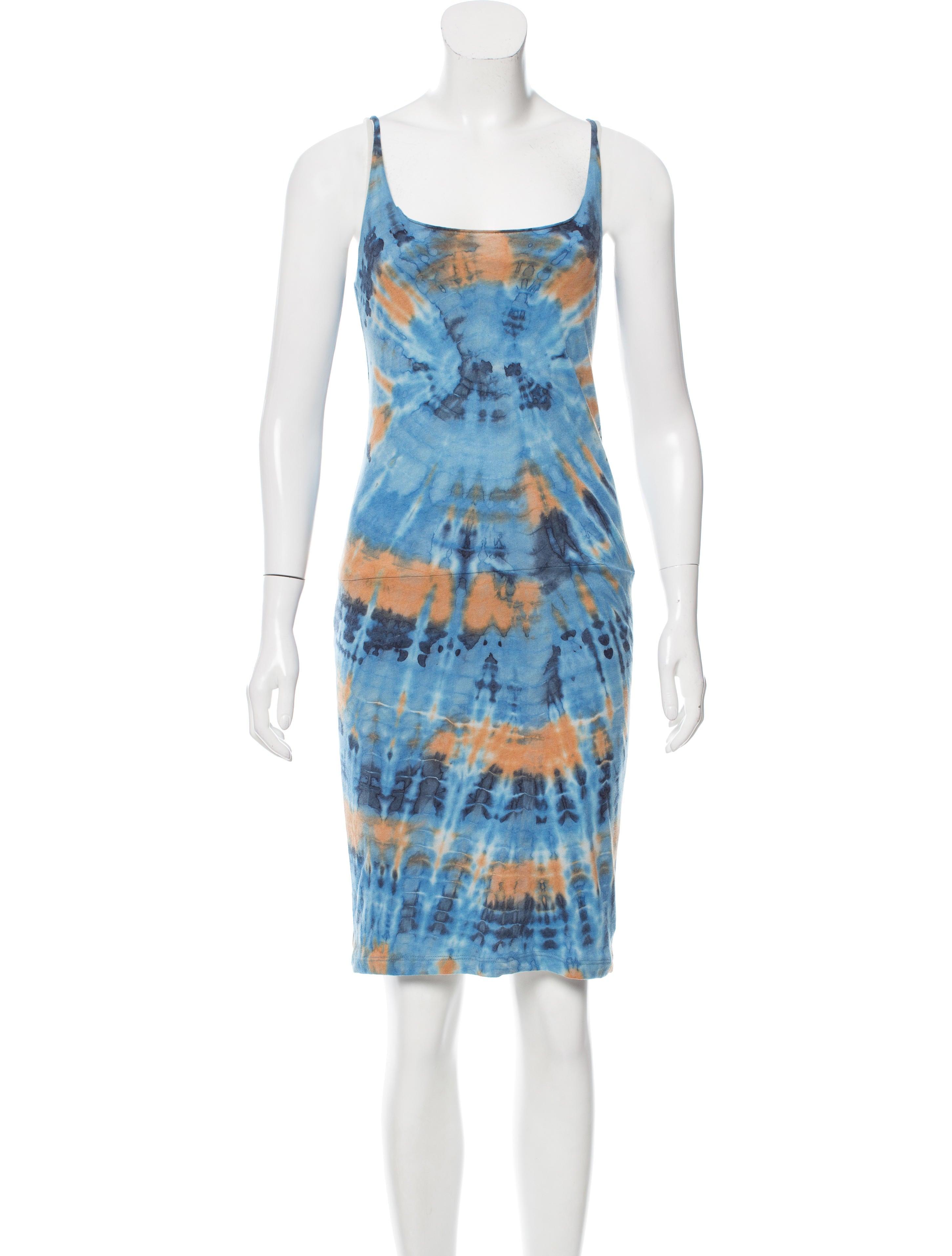 Raquel allegra tie dye sleeveless dress clothing for Tie dye sleeveless shirts