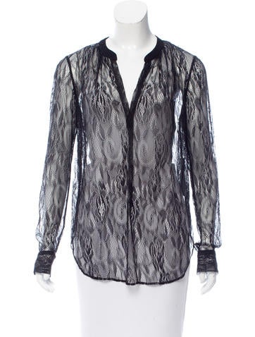Raquel Allegra Long Sleeve Lace Top w/ Tags None