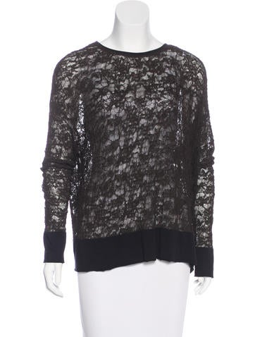 Raquel Allegra Long Sleeve Knit Sweater None