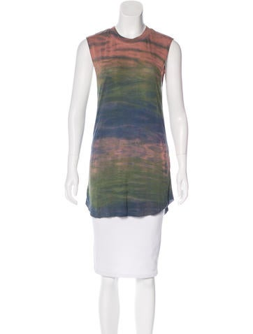 Raquel Allegra Sleeveless Printed Top None